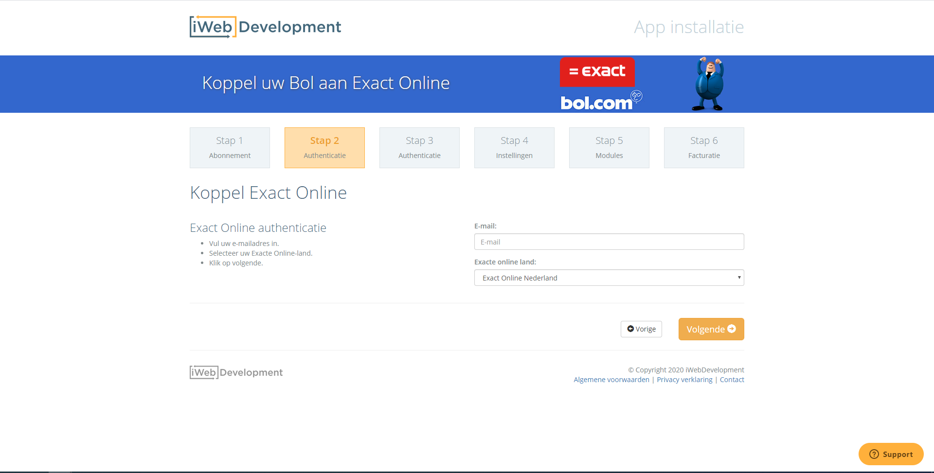 Exact App Center Bol Com By Iwebdevelopment